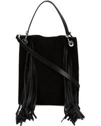 CoSTUME NATIONAL | Fringed Tote | Lyst