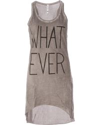 BLK OPM - Whatever Tank Dress - Lyst