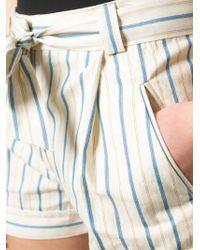 Sessun - Striped Shorts - Lyst