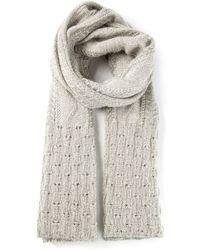 Missoni Textured Knit Scarf - Lyst