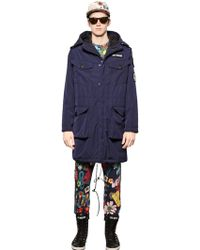 Love Moschino - Oversized Padded Nylon Coat - Lyst