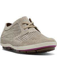 Cobb Hill - Tamara Perforated Suede Trainers - Lyst
