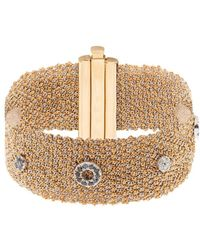 Carolina Bucci - Diamond, Yellow & White-Gold Bracelet - Lyst