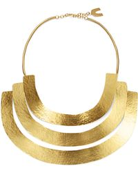 Herve Van Der Straeten | Hammered Collar Necklace | Lyst