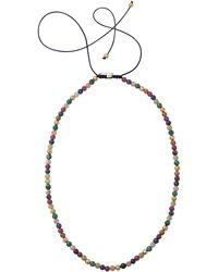 Shamballa Jewels - Mixed Bead Necklace - Lyst