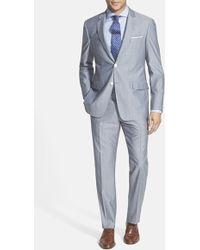 Todd Snyder Trim Fit Wool Blend Suit - Lyst