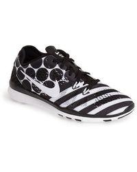 Nike 'Free 5.0 Tr Fit 5 Print' Training Shoe - Lyst
