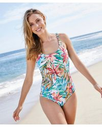 DAMART - Tropical Swimsuit - Lyst