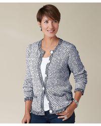 DAMART - Knitted Jacket - Lyst