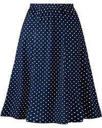 DAMART - Flared Printed Skirt - Lyst