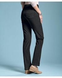 DAMART - Perfect Fit Cord Trousers - Lyst
