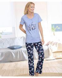 DAMART - Short Sleeved Pyjamas - Lyst