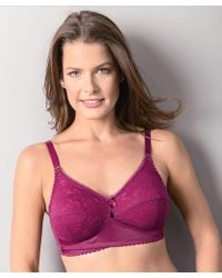 072a34390eb94 DAMART - Pack Of 2 Non-wired Lace Bras - Lyst