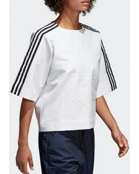 adidas Originals - Womens T-shirt - Lyst