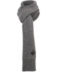 Minimum - Bern Dark Grey Scarf - Lyst
