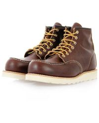 Red Wing - Classic Moc Toe Brown Boot 08138-1 - Lyst