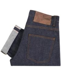 Naked & Famous - Naked And Famous Dirty Fade Selvedge Denim 018532 - Lyst