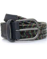 Andersons - Anderson Belts Anderson'S Woven Multi Braided Leather Belt Af2817 - Lyst