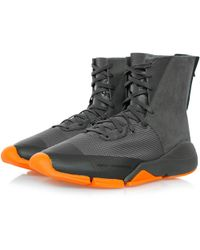 Y-3 - Future Zip High Chamel Boot Bb4806 - Lyst