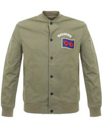 Maharishi - Year Of The Rooster Olive Stadium Jacket 6120 - Lyst