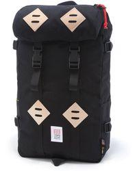 Topo Designs - Topo Design Kettlesack Black Backpack - Lyst