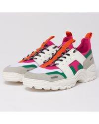 AMI - Neoprene Running Sneakers - Lyst
