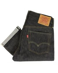 Levi's - Levis Vintage 1954 Jeans Rigid Shrink To Fit 501 Zxx Unwashed 5015400680 - Lyst