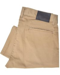 Naked & Famous - Naked And Famous Slim Chino Tan Trousers - Lyst