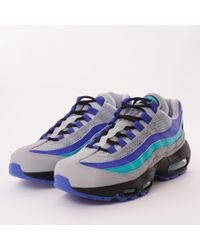 Lyst - Nike Air Max 95 Prm in Blue for Men - Save 10% 9acb049cc
