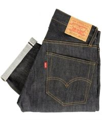 Levi's | Levis Vintage 1967 - 505 Rigid Pre-shrunk Dark Indigo Jeans | Lyst