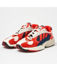 adidas Originals - Yung-1 Trainers In Red Multi - Lyst