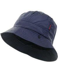 d8f79735 Barbour Mens Elwood Bucket Hat Navy Blue in Blue for Men - Lyst