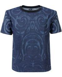 Armani Jeans - Crew Neck Dyed T Shirt - Lyst