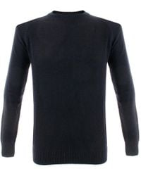 Barbour - Staple Crew Navy Wool Jumper Mkn0605Ny91 - Lyst