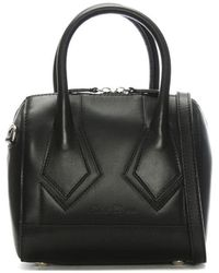 Robert Clergerie - Melliexes Black Leather Mini Tote Bag - Lyst