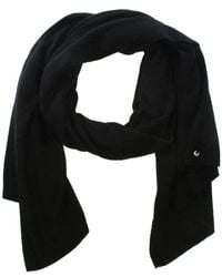 UGG - Luxe Black Cashmere Oversized Wrap - Lyst