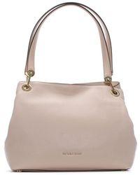 Michael Kors - Raven Large Soft Pink Leather Shoulder Bag - Lyst