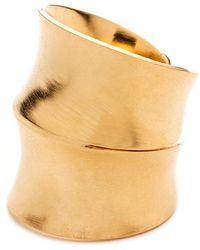 DANNIJO - Jacinda Ring In Gold-6 - Lyst