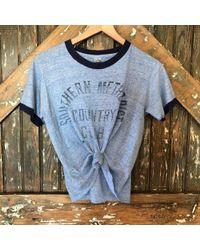 DANNIJO - Vintage Southern Methodist Country Club Tee - Lyst