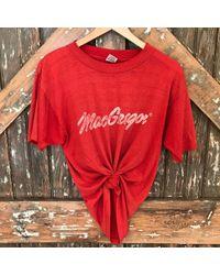 DANNIJO - Vintage Red Macgregor Tee - Lyst