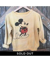 DANNIJO - Vintage Mickey Mouse Sweatshirt - Lyst