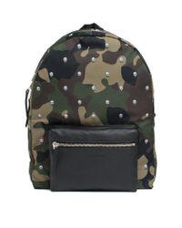 ff47d6eaf66 Alexander McQueen - Camouflage  skull  Backpack - Lyst