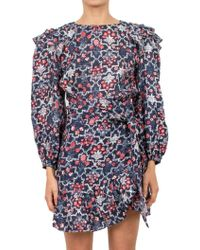 Étoile Isabel Marant - Printed Linen Dress - Lyst