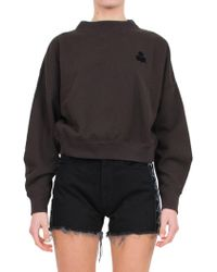 Étoile Isabel Marant - Cotton-blend Jersey Sweatshirt - Lyst