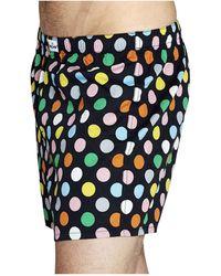 Happy Socks - Big Dot Woven Boxer - Lyst