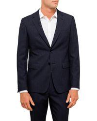 Geoffrey Beene - Textured Plain Travel Jacket - Lyst