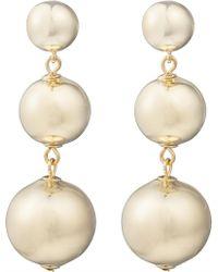 Kate Spade - Bauble Drop Earrings - Lyst
