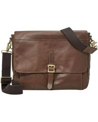 Fossil - Defender Ew City Brown - Lyst
