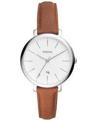 Fossil - Jacqueline Brown Watch - Lyst