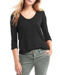 Gap - Soft Spun Knit Tunic Top - Lyst